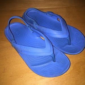 Crocs flip flops for boys size C13